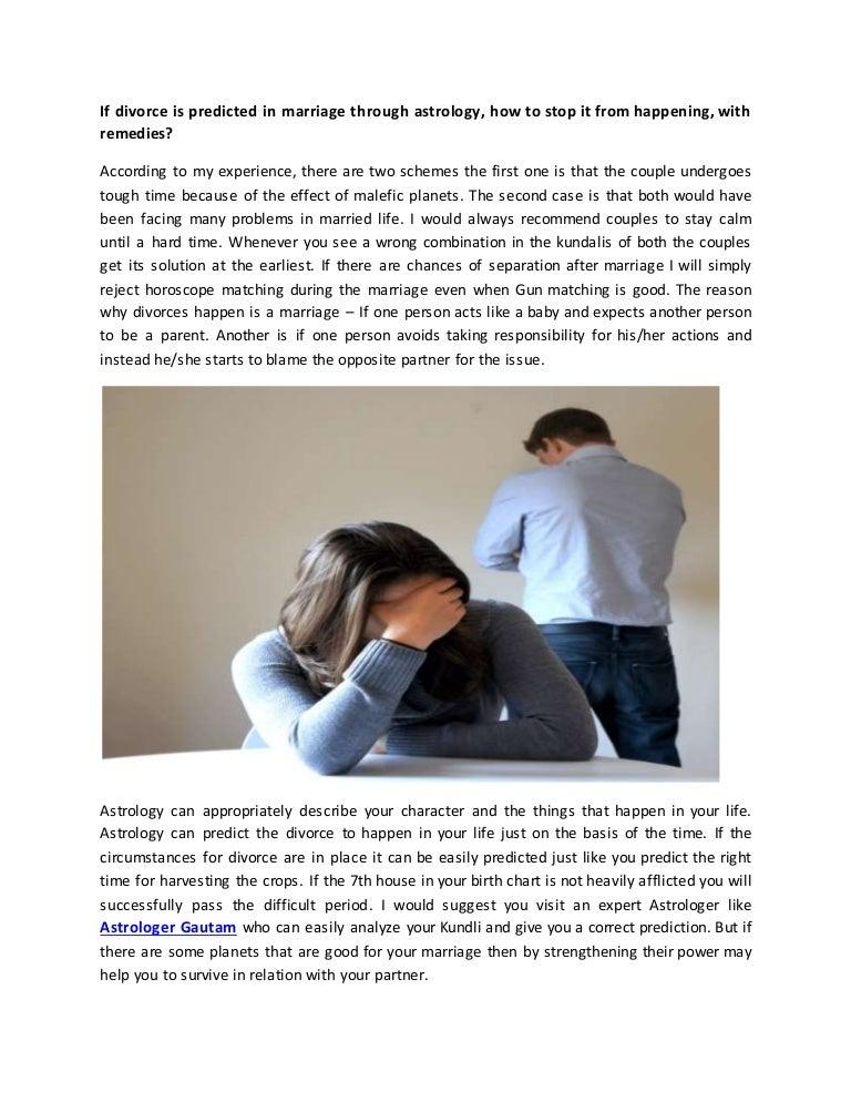 Stop divorce by astrologer john