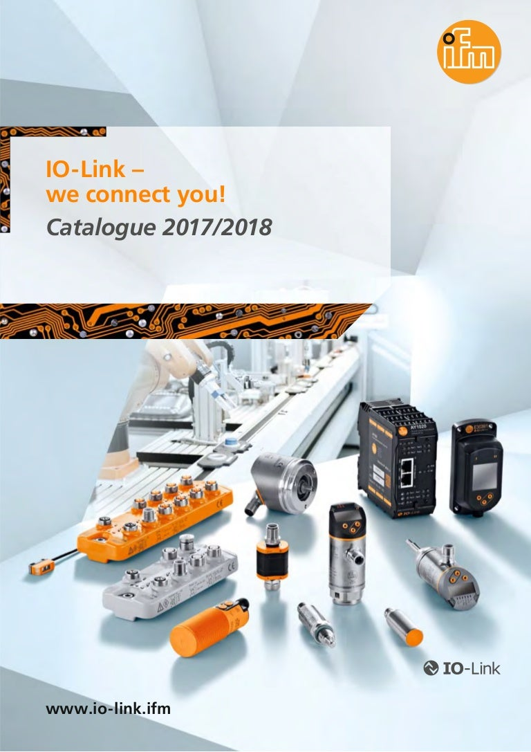 Io Link We Connect You Catalogue 2017 2018 En Ifm Wiring Block
