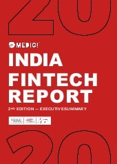 India FinTech Report 2020 - 2nd edition, Executive Summary