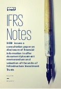 IFRS Notes -SEBI issues a consultation paper on disclosure of financial information