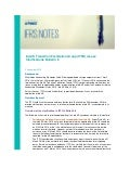 IFRS Notes: Ind AS transition facilitation group (ITFG) issues Clarifications Bulletin 6