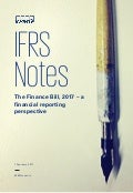 IFRS Notes: The Finance Bill, 2017 – a financial reporting perspective