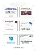 Presentation: Ten building Blocks to Successful Clustering Initiatives