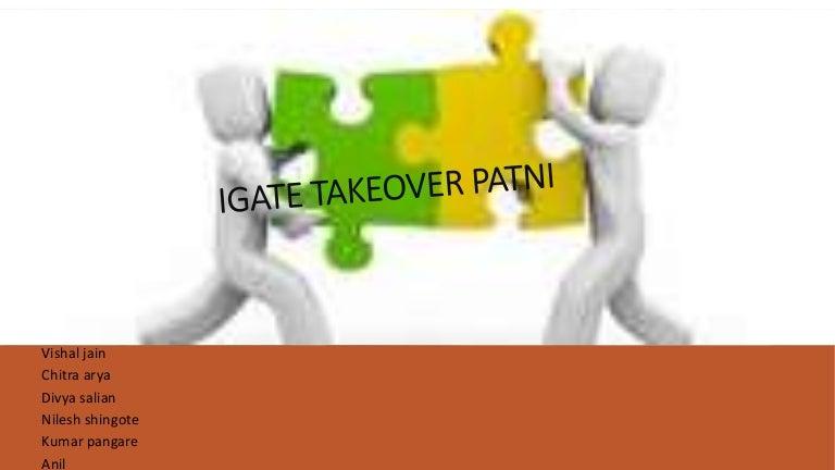 I gate takeover patni