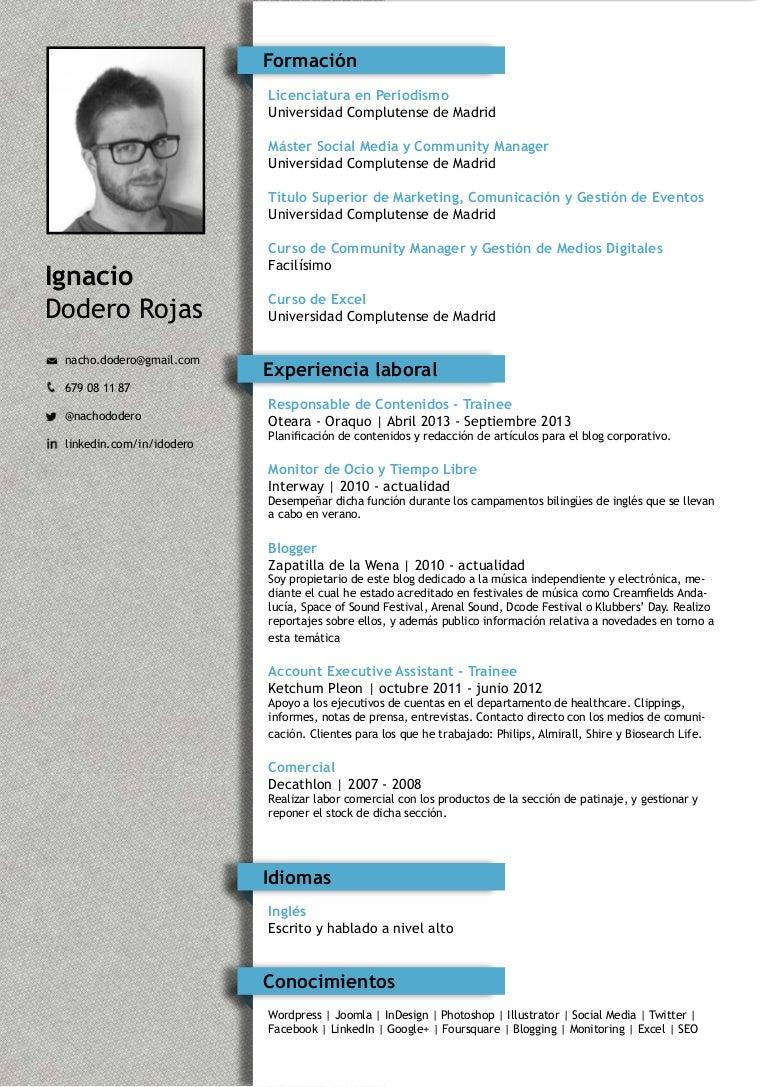 Ignacio Dodero Rojas - CV