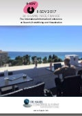 II-SDV 2017 in Nice - The International Information Conference on Search, Data Mining and Visualization
