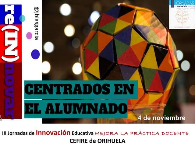 III Jornadas de Innovación Orihuela 2015
