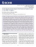 An Investigation into the Impact of the Electronic Taxation System: A Case Study of Namibia