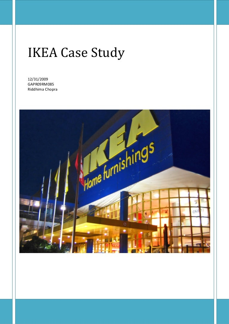 IKEA Strategic case study  amp  analysis Modrox com IKEA Case Study