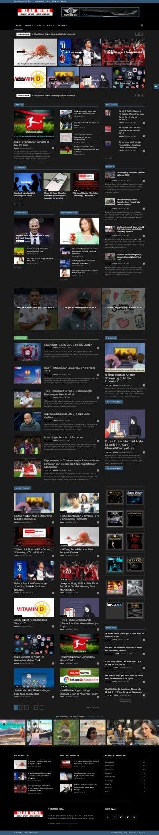Iklannews.com portal berita bola, politik, viral, teknologi, motogp, kesehatan update