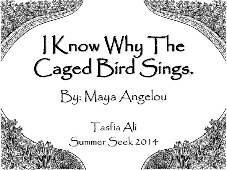 i know why the caged bird sings essay Since i know why the caged bird sings was a book about a black girl struggling to become an independent woman, it fit right in with the goals of the civil rights and feminist movements since then, the book's popularity has only grown.