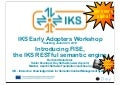 IKS early adopters workshop - introducing FISE