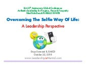 Ila florida 2018   dayo sowunmi ii - overcoming the selfie way of life