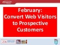 Convert Web Visitors to Prospective Customers