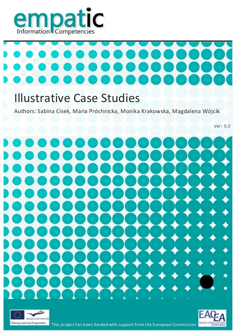 illustrative case study format