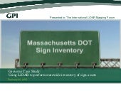 Geoverse Case Study: Using LiDAR to perform statewide inventory of sign assets