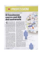il business corre sui fili del network