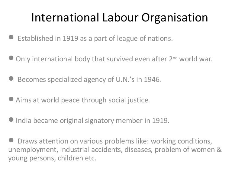 ilo in caribbean essay Ilo standards on forced labour combined with targeted technical assistance are the primary international tools for fighting this scourge (ilo, 2009) more than 60 cases of progress in the struggle against forced labour has been noted by the ilo's committee of experts on the application of conventions and recommendations in the last 10 years.
