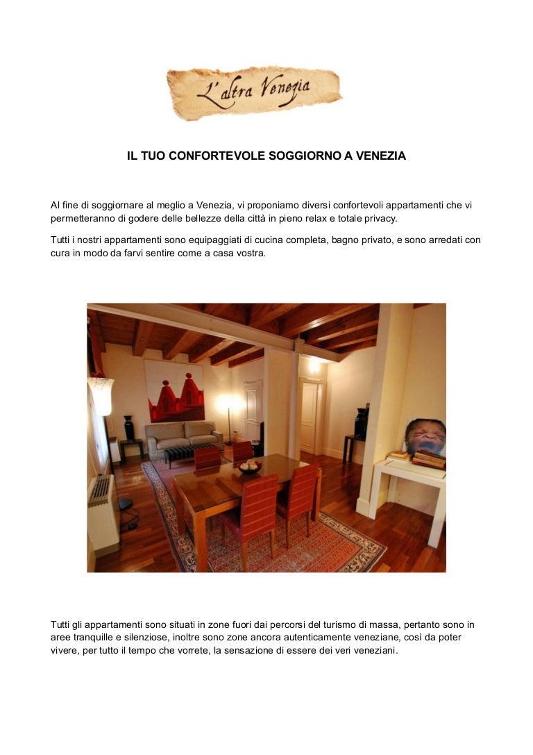 Il tuo confortevole soggiorno a Venezia