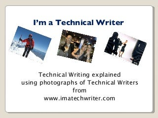 Techincal writer