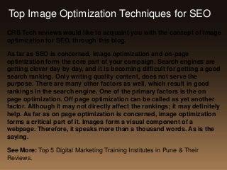 Image optimization-techniques