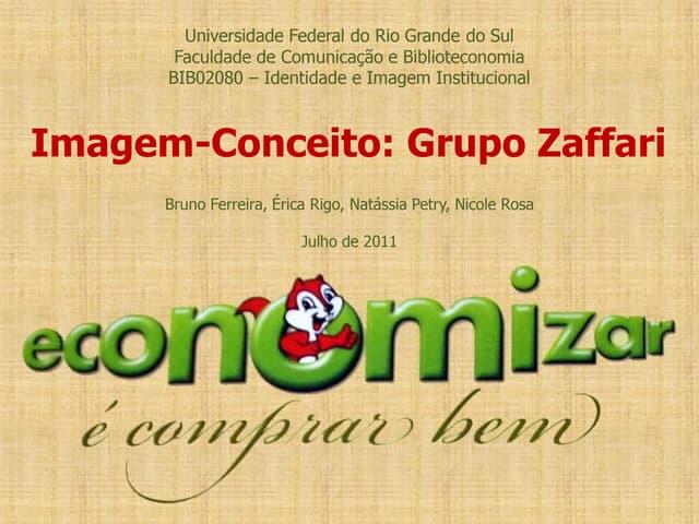 Imagem-Conceito: Grupo Zaffari