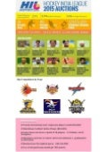 Hockey India League 2015 Auction Infographics