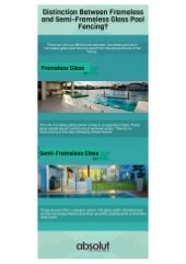 Distinction Between Frameless And Semi-Frameless Glass Pool Fencing