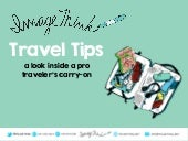 ImageThink Travel Tips - Pro Traveler's Carry-On