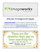 Wraptek Canvas Stretcher Bar Kit 18x24