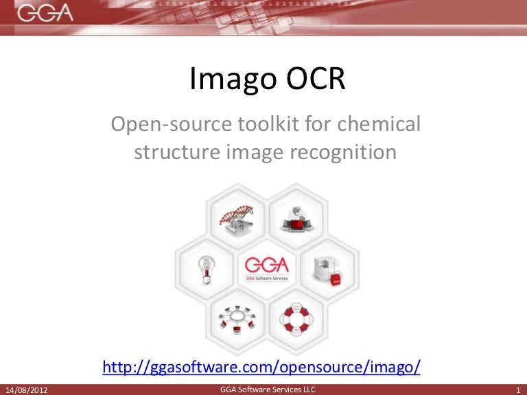 Imago OCR: Open-source toolkit for chemical structure image