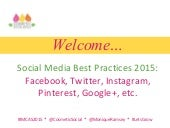 Social Media Best Practices for 2015
