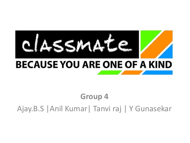 itc classmate imc project