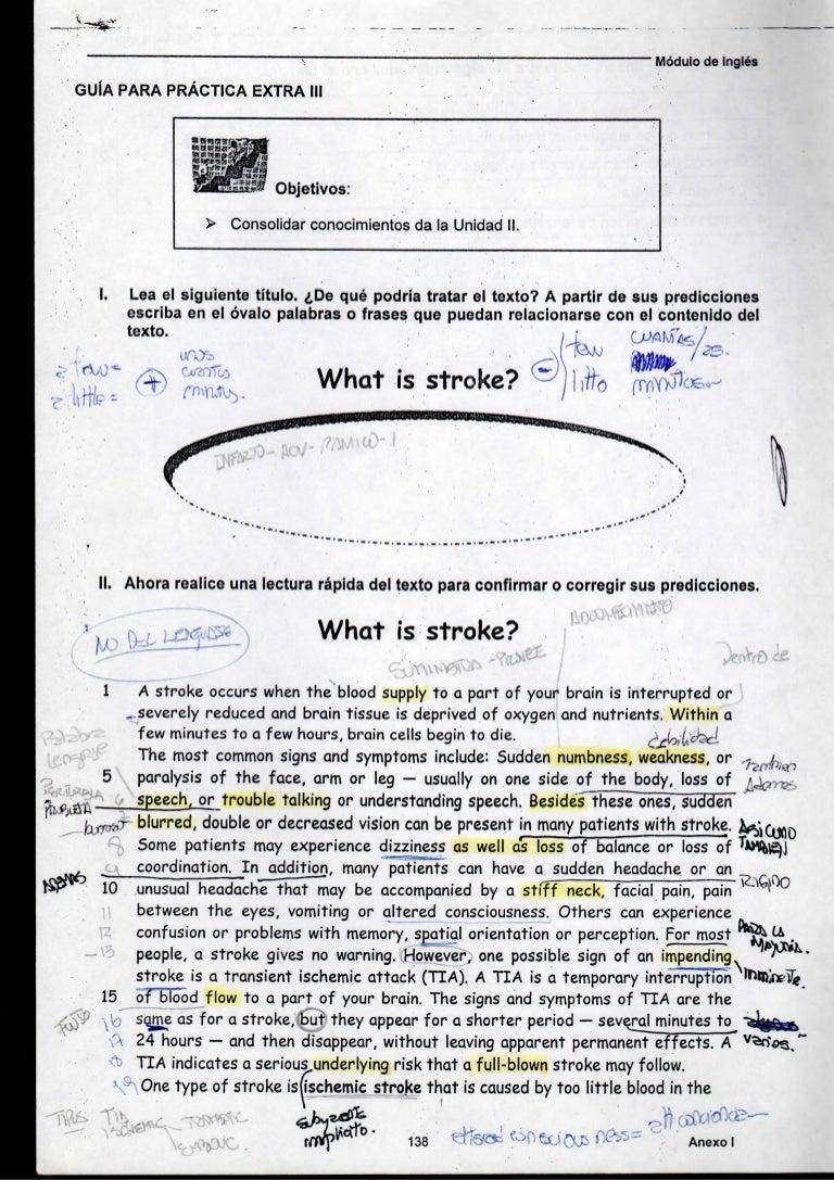 Apunte Inglés Médico Unc 15º Parte