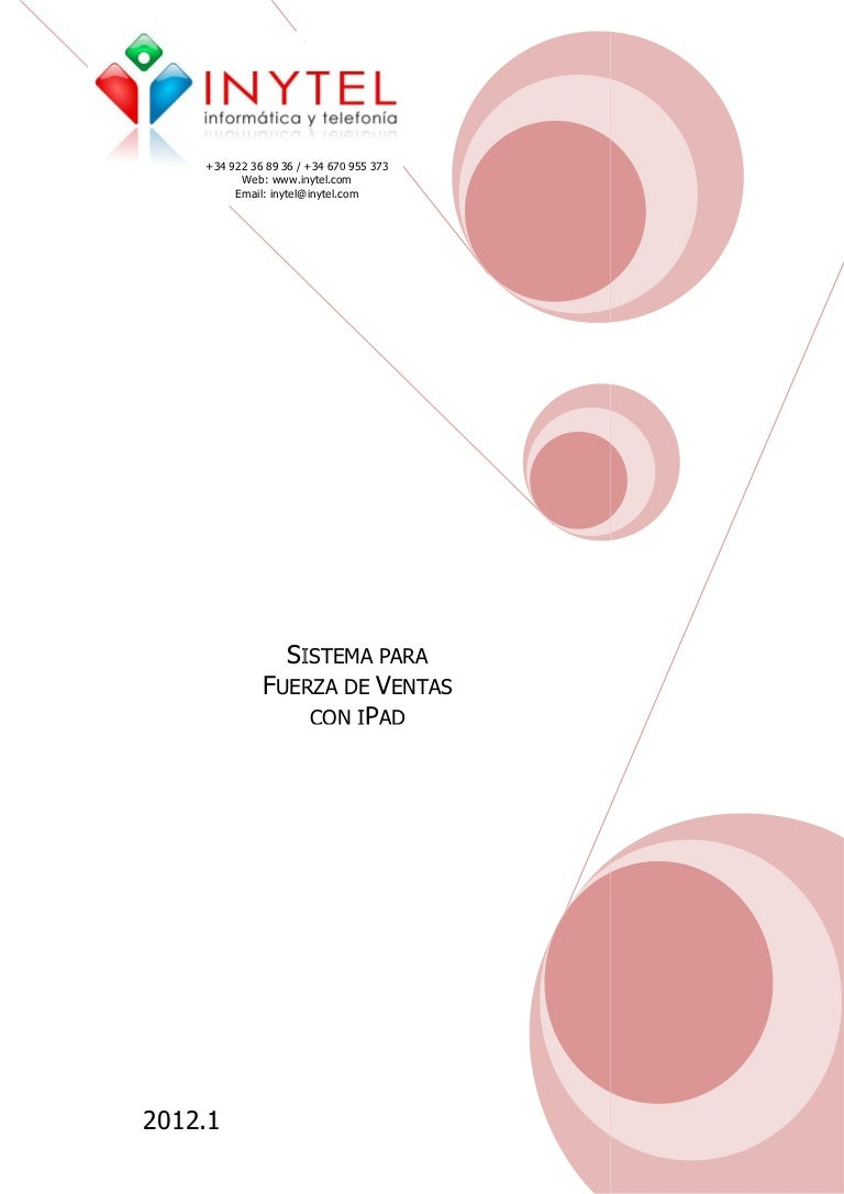 Fuerza De Ventas Con IPad Manual IMovil
