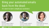 How to Bring Your Automated Emails Back From the Dead [Webinar Slides]