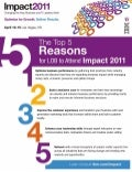Top 5 Reasons for Business Leaders to Attend IBM Impact 2011