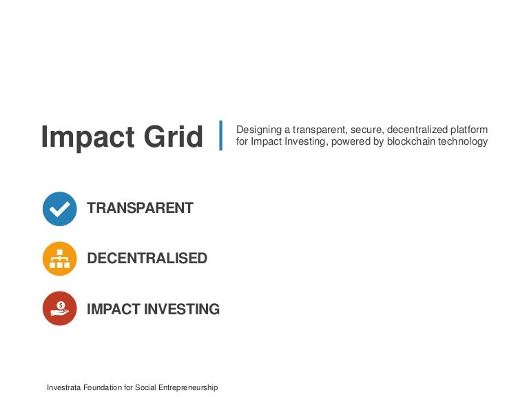 Impactgrid the next gen platform for impact investing powered by b malvernweather Choice Image