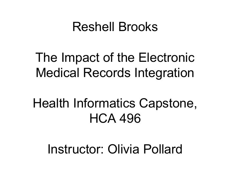 impact of ehr power point