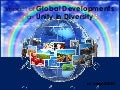 Impact of Global Developments on Unity in Diversity