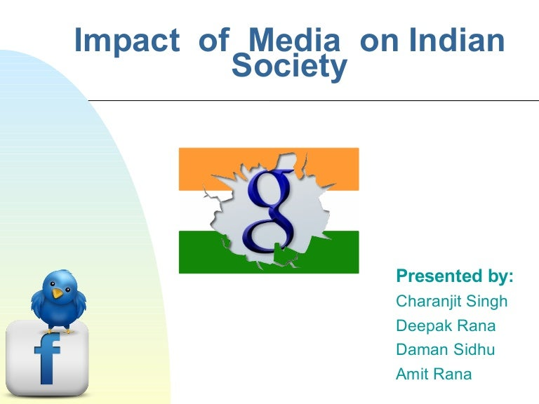 impact of media on n society