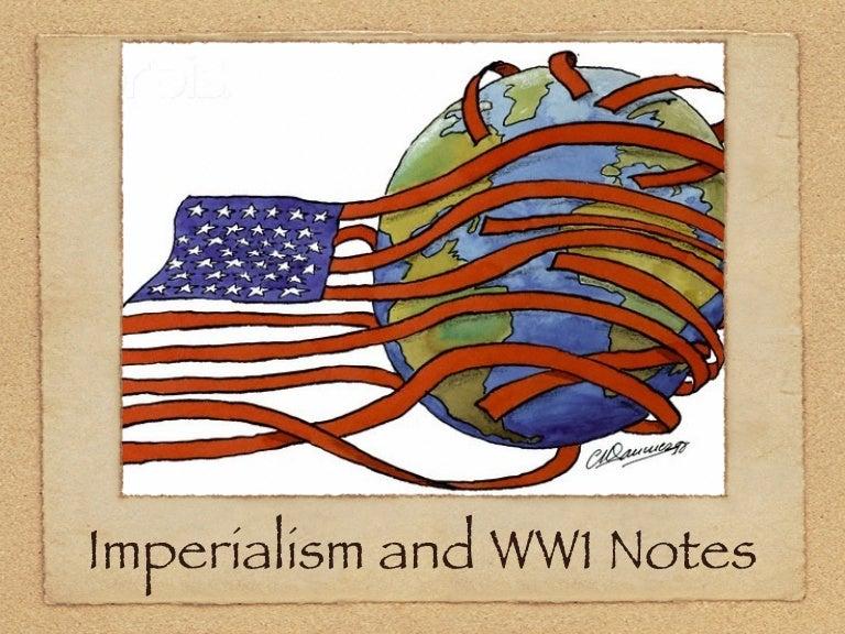 world war one imperialism