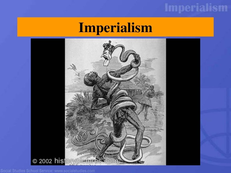what did imperialism have to do with ww1