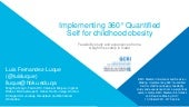 Implementing 360° Quantified Self for childhood obesity: feasibility study and experiences from a weight loss camp in Qatar