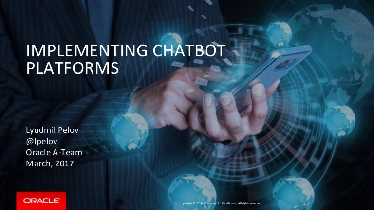 Implementing Your Own Chatbot Platform!