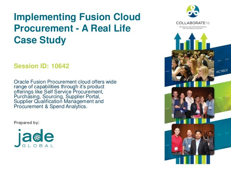 Implementing Fusion Cloud Procurement a Real Life Case Study