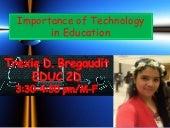 Importance of-technology