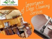 Importance of Deep Cleaning Services