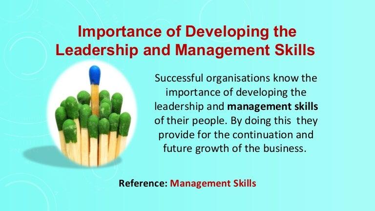 leadership skills essay