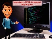 Importance of PHP Assignment Help Experts